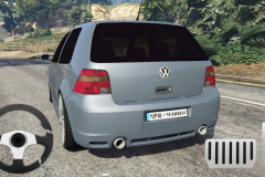 Golf Volkswagen Drift Simulator1