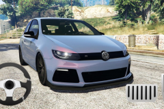 Golf Volkswagen Drift Simulator2