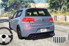 Golf Volkswagen Drift Simulator5